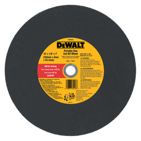 DEWALT 14-in Continuous High-Performance Aluminum Oxide Circular Saw Blade