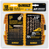 DEWALT 18-Piece Pilot Point Drill Bit Set