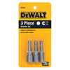 DEWALT 3-Pack 2-1/2-in Nutsetter Screwdriver Bit
