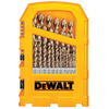 DEWALT 29-Pack Gold Ferrous Twist Drill Bit Set