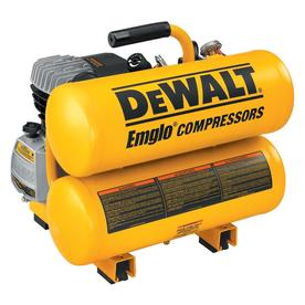 DEWALT 1.1-HP 4-Gallon 125 PSI Electric Air Compressor