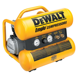 DEWALT 1.1 HP 4-Gallon 125 PSI Electric Air Compressor