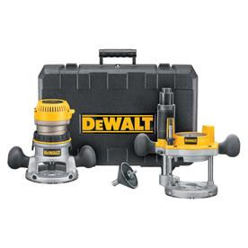 DEWALT 1.75-HP Combo Fixed/Plunge Corded Router