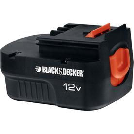 BLACK & DECKER 12-Volt Spring Loaded Slide Pack Battery
