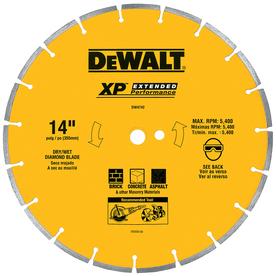 DEWALT 14-in Segmented Diamond Circular Saw Blade