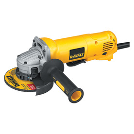 DEWALT 4-1/2-in 10-Amp Paddle Switch Corded Angle Grinder