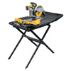 DEWALT 10-in 1.5 Wet/Dry Slide Tile Saw with Stand