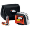 BLACK & DECKER 10-ft Beams and Laser Chalklines Line Generator Laser Level