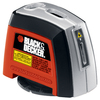 BLACK & DECKER 10-ft Beam and Laser Chalkline Line Generator Laser Level