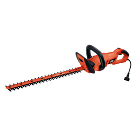 BLACK &amp; DECKER 3.3-Amp 24-in Corded Electric Hedge Trimmer