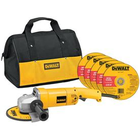 DEWALT 7-in 13-Amp Trigger Corded Grinder