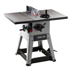 Shop delta 10 left tilt contractor table saw at for 10 inch delta table saw