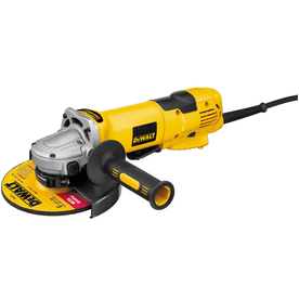 DEWALT 6-in 13-Amp Paddle Switch Corded Angle Grinder