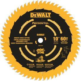 DEWALT Precision Trim 10-in 60-Tooth Standard Carbide Circular Saw Blade