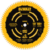 DEWALT Precision Trim 10-in 80-Tooth Standard Carbide Circular Saw Blade
