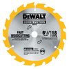 DEWALT Construction 6-1/2-in 18-Tooth Circular Saw Blade