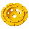 DEWALT 7-In Double Row Diamond Cup Grinding Wheel Blister