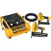 DEWALT Finish Nailer/Brad Nailer/Compressor Combo Kit