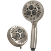 Jacuzzi Primo 4-in Brush Nickel Showerhead with Hand Shower