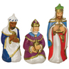 Holiday Time 3-ft Lighted Nativity Freestanding Sculpture Outdoor Christmas Decoration with White Incandescent Lights