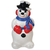 Holiday Time 2.66-ft Lighted Snowman Freestanding Sculpture Outdoor Christmas Decoration with White Incandescent Lights