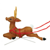 Holiday Time 3-ft Lighted Reindeer Freestanding Sculpture Outdoor Christmas Decoration with White Incandescent Lights