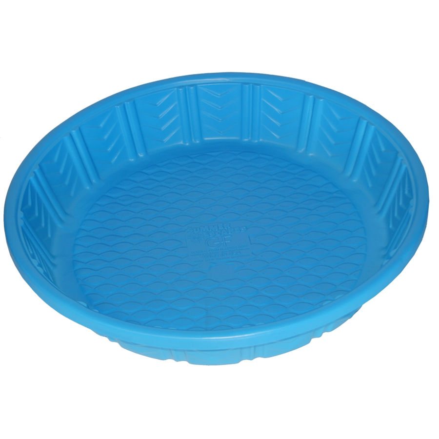 Shop summer escapes poly pool 4 ft polyethylene round for Plastik pool rund