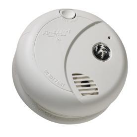 First Alert Battery-Powered 9-Volt Smoke Detector