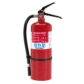 First Alert Heavy Duty Plus Fire Extinguisher - Rechargeable