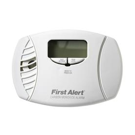 First Alert DC Plug-In Carbon Monoxide Alarm with Battery Back-Up