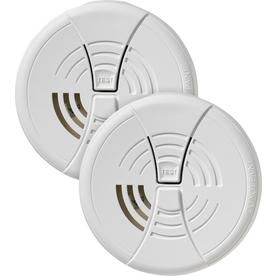 First Alert 2-Pack Battery-Powered 9-Volt Smoke Detectors