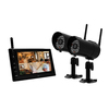 First Alert 7-in Digital Wireless RF Outdoor Security Camera with Night Vision