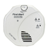 First Alert AC Hardwired Voice Alert Carbon Monoxide Alarm and Smoke Detector with Battery Back-Up