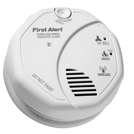 First Alert Battery-Operated Carbon Monoxide and Smoke Detector (Works with Iris)