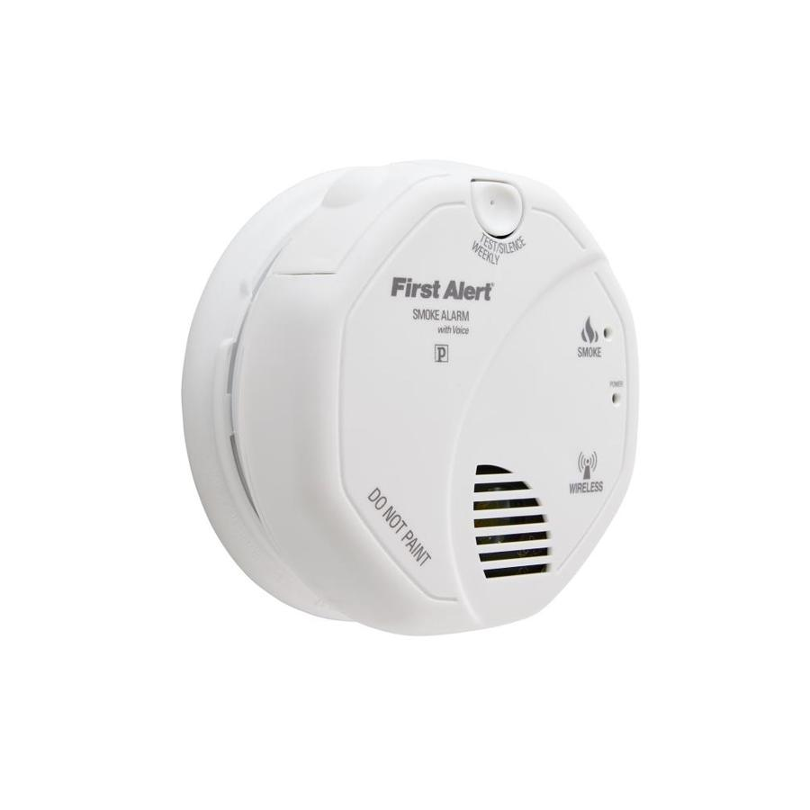 shop first alert battery powered 3 volt smoke detector at. Black Bedroom Furniture Sets. Home Design Ideas