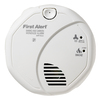 First Alert Battery-Operated Voice Alert Carbon Monoxide Alarm and Smoke Detector