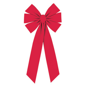 "Holiday Living 10"" Red Velvet Bow"