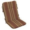 allen + roth Stripe Chili Cushion for Adirondack Chair