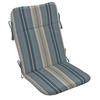 allen + roth Stripe Bluee Cushion for Adirondack Chair