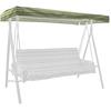 allen + roth Stripe Green Porch Swing Canopy