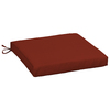 Garden Treasures Red Red Solid Seat Pad For Universal