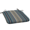 allen + roth Stripe Blue Seat Pad for Universal Use