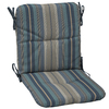 allen + roth Stripe Blue Cushion for Universal Use
