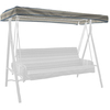 Arden Outdoor Stripe Blue 3-Person Replacement Top for Porch Swing or Glider