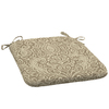 Garden Treasures Neutral Stencil Floral Seat Pad for Universal Use