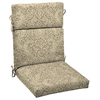 Garden Treasures Neutral Stencil Floral Cushion for Universal Use