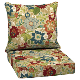 Shop Garden Treasures Bloomery Glenlee Floral Cushion For