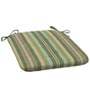 allen + roth Multi Eucalyptus Stripe Seat Pad for Adirondack Chair