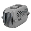 Petmate 2.18-ft x 1.55-ft x 1.38-ft Light Grey Collapsible Plastic and Wire Pet Crate