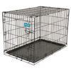 Aspen Pet 3-ft x 2-ft x 2.25-ft Black Collapsible Wire Pet Crate